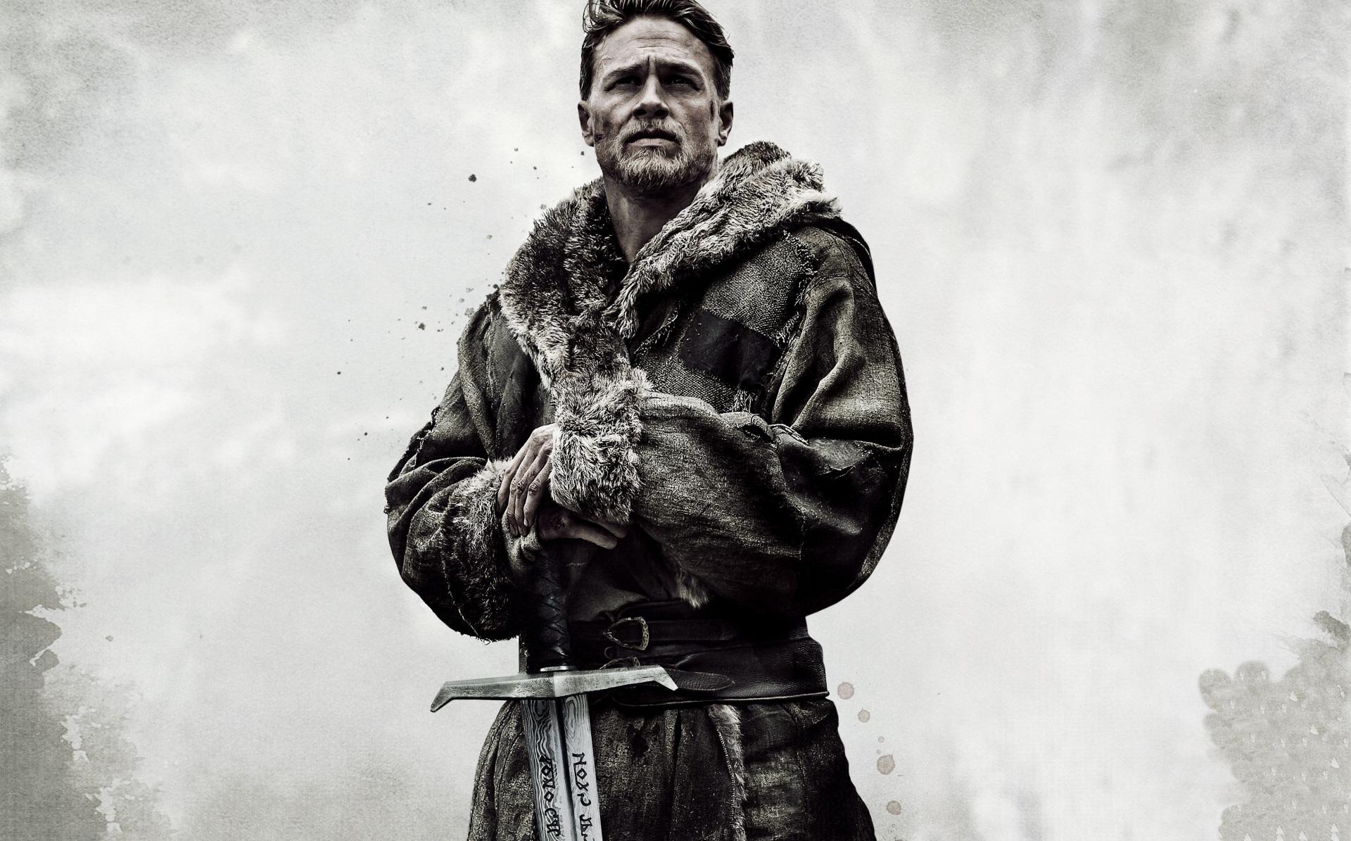 Photo Men King Arthur Legend Of The Sword Charlie Hunnam