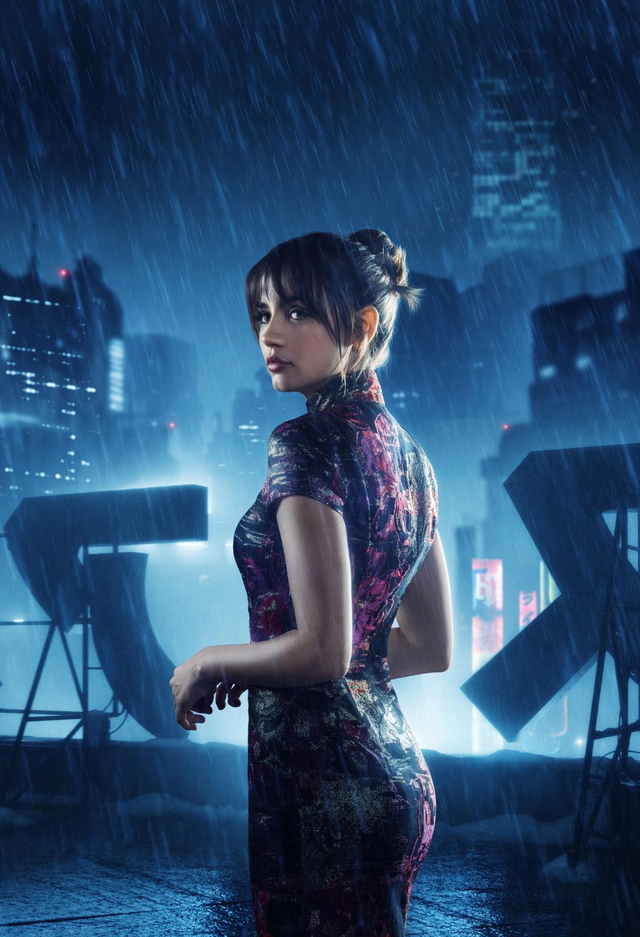 Picture Girls Blade Runner 2049 Movies Rain Ana De Armas 1311x1920