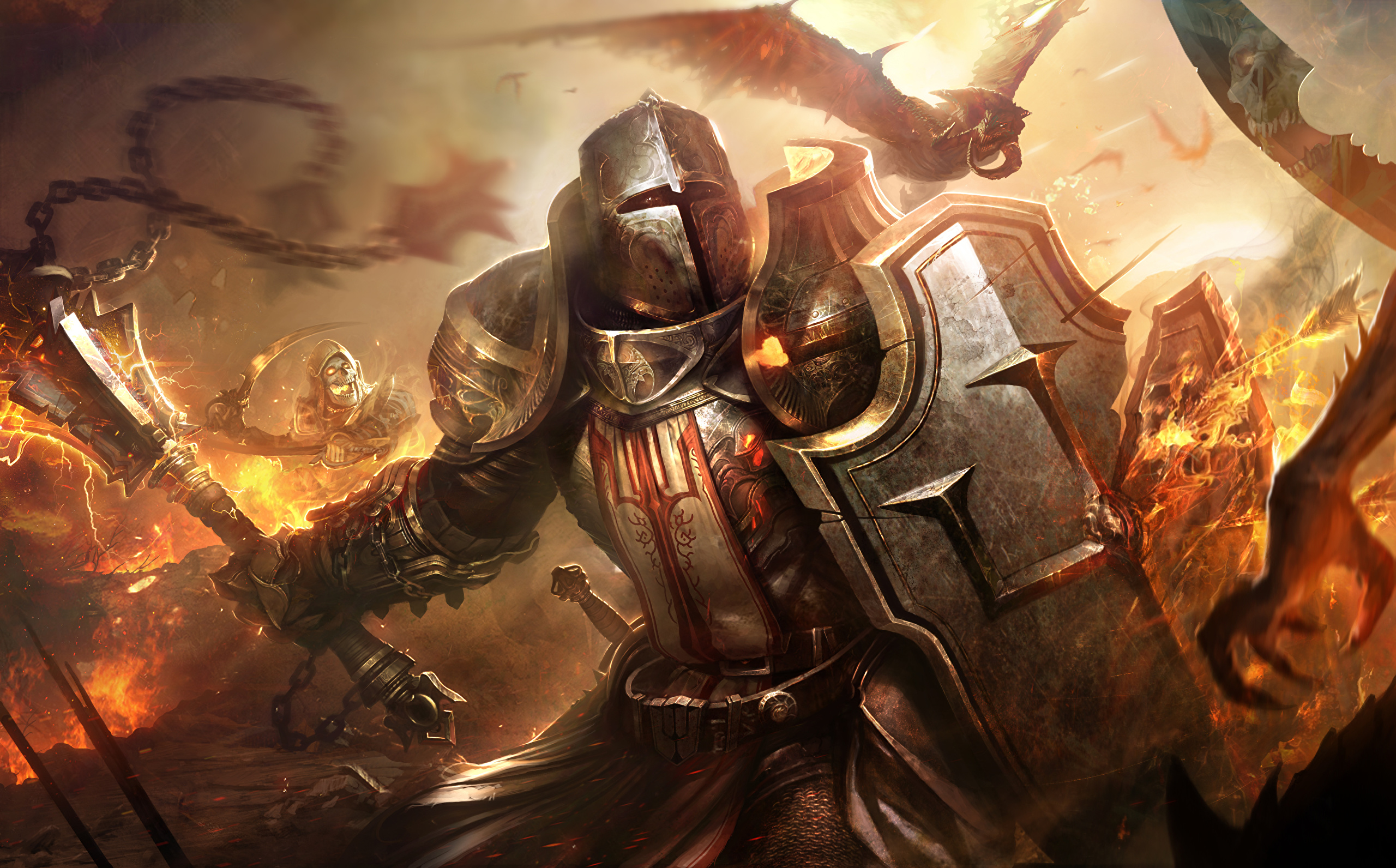 Pictures Armor Knight Shield Dragons Helmet Fantasy Games 2560x1592 They can also be dropped by getting enough dragon weight. pictures armor knight shield dragons