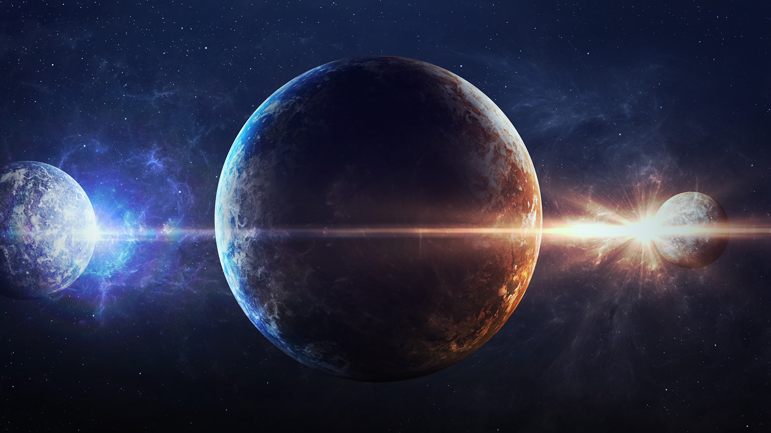 Pictures Planet Space 2560x1440