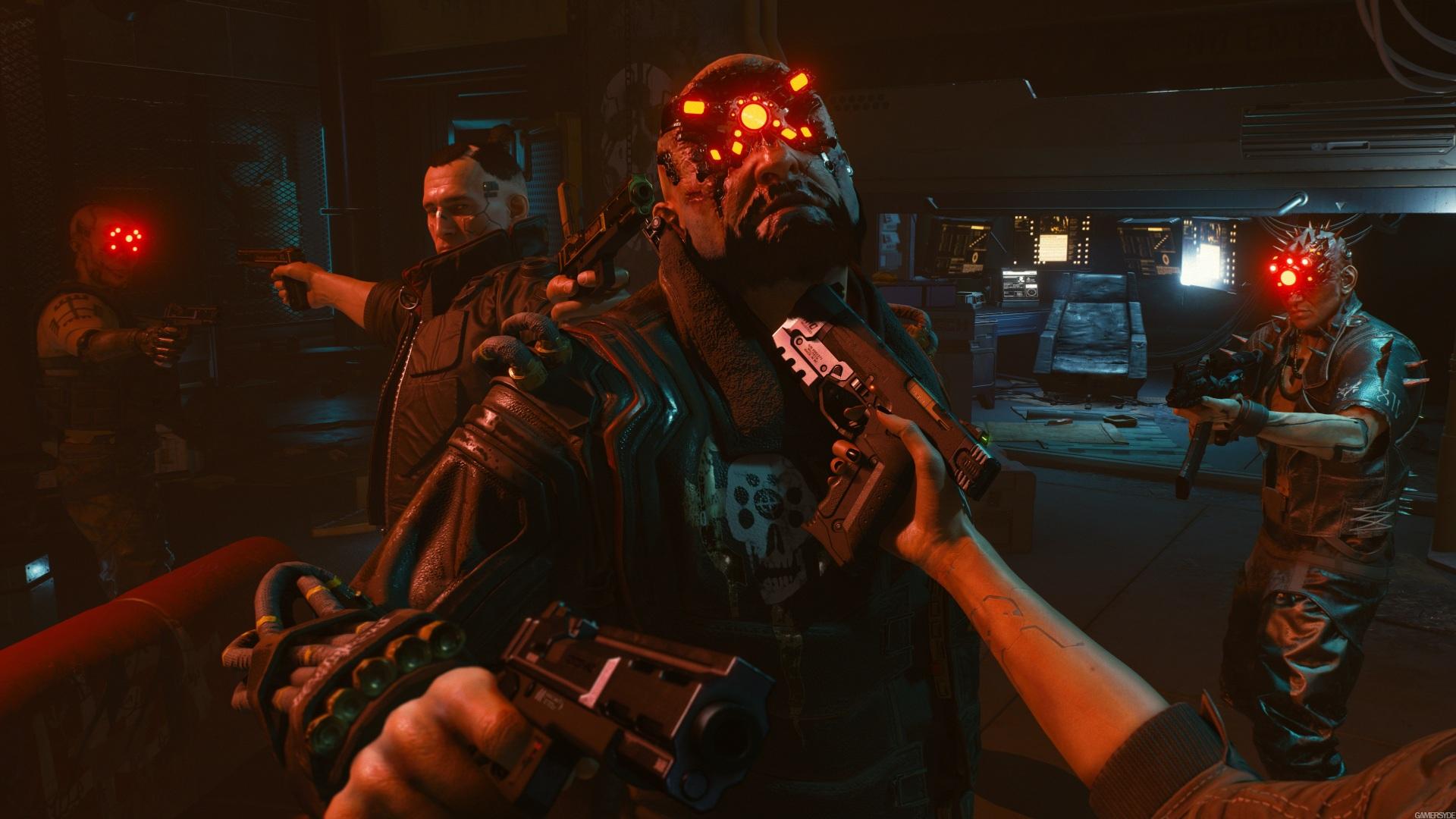Fondos De Pantalla 1920x1080 Cyberpunk 2077 Pistola Mano