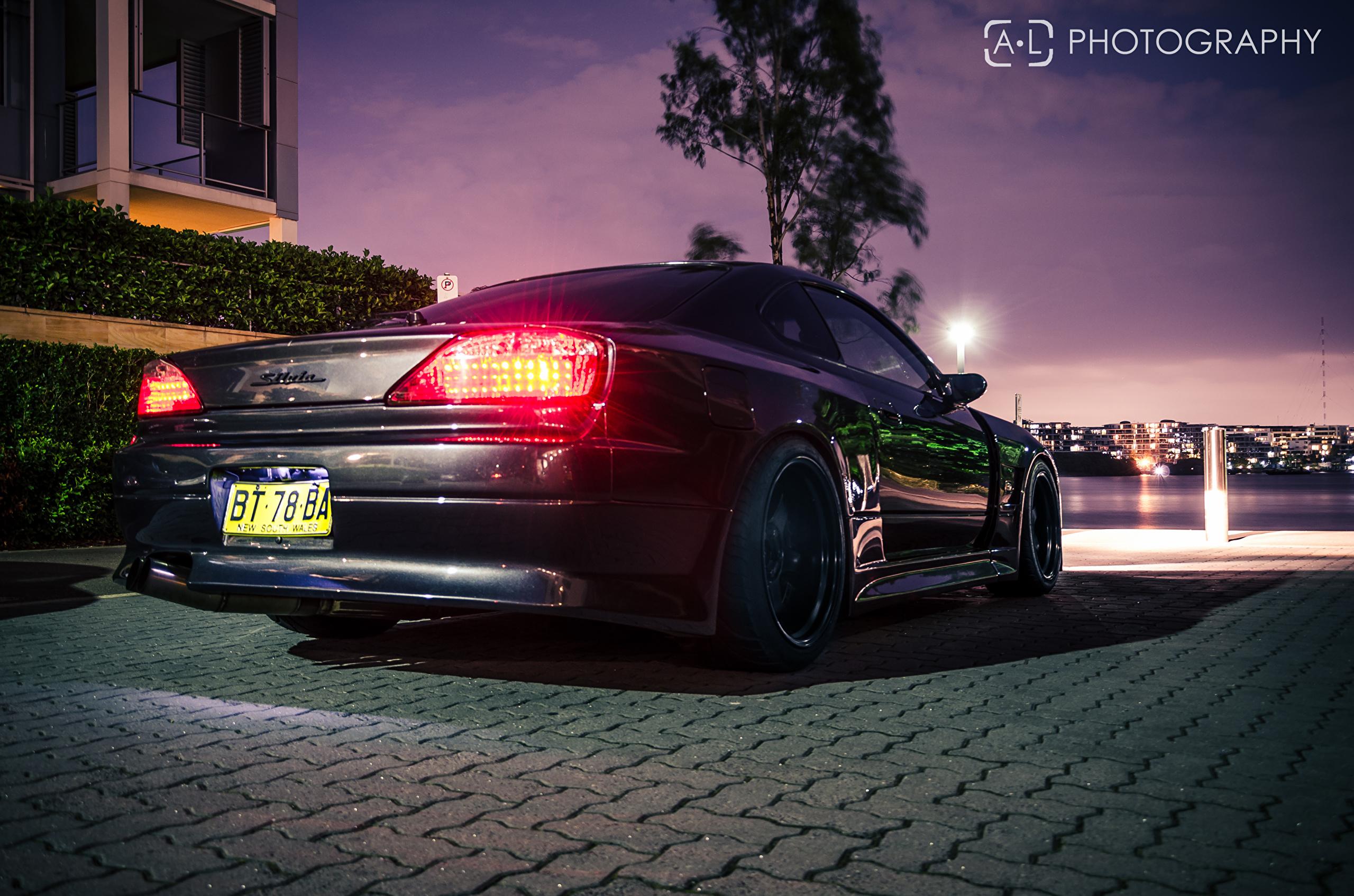 壁紙 2560x1695 日産自動車 Silvia S15 の背面図 自動車