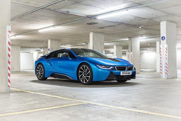Pictures BMW 2014 i8 Light Blue automobile 600x400 Cars auto