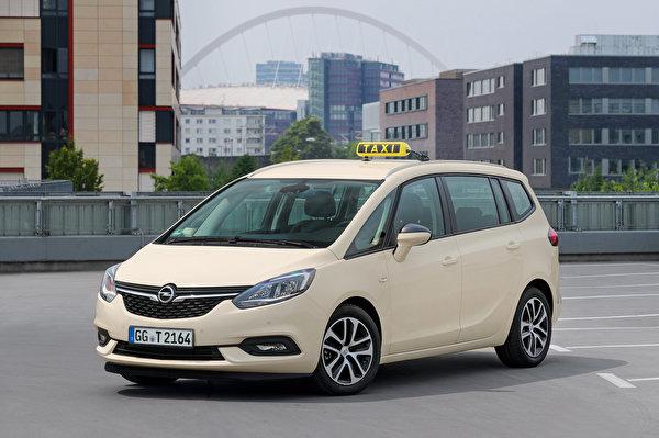 Fotos von Opel Taxi - Autos 2016-19 Zafira Taxi (C) auto 600x399 Autos automobil