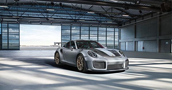 Wallpaper Porsche 911 gt2 rs Silver color automobile 600x316 Cars auto