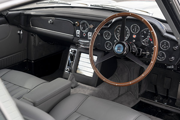 Fotos von Salons Aston Martin Lenkrad DB5 Goldfinger Continuation, 2020 Autos 600x399 auto automobil