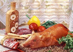 Fondos de escritorio Productos càrnicos Carne de cerdo