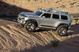 Wallpapers Mercedes-Benz Silver color Side 2012 Ener-G-Force automobile