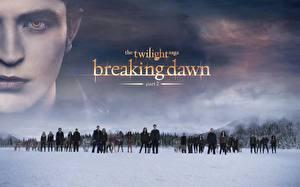 Bakgrundsbilder på skrivbordet The Twilight Saga The Twilight Saga: Breaking Dawn