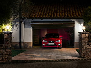 Wallpapers Seat Red Front 2013 Seat Ibiza Cupra