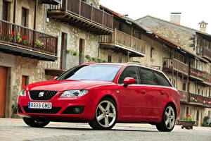 Wallpapers Seat Red Headlights 2009 Seat Exeo ST