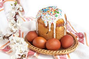 Hintergrundbilder Feiertage Ostern Kulitsch Zuckerguss Ei