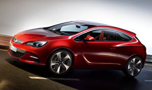 Fotos Opel Rot Seitlich 2010 GTC Paris Autos