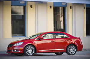 Pictures Suzuki - Cars Red Side 2011 Kizashi Sport Cars