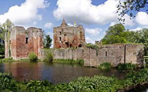 Hintergrundbilder Ruinen Niederlande Burg Brederode Städte