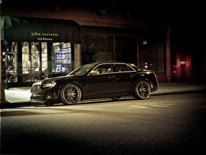Pictures Chrysler Black Side 2013 300C automobile