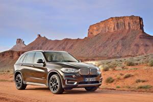 Bureaubladachtergronden BMW klif landform 2013 X5 automobiel