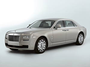Fotos Rolls-Royce Graues Luxus 2011 Ghost Extended Wheelbase auto