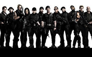 Wallpaper The Expendables 2010 Men Celebrities