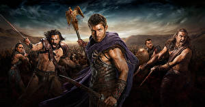 Images Spartacus: Blood and Sand Man Warrior film