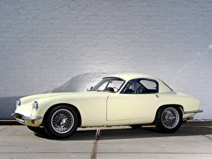 Image Lotus Vintage White Side 1957 Lotus Elite auto