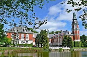 Bilder Burg Dänemark Ast Hvedholm Faaborg Städte