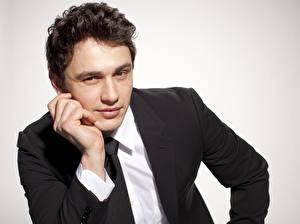 Bilder Mann Krawatte Anzug James Franco