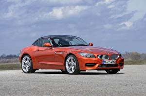 Wallpaper BMW BMW Z4 Orange 2013 auto