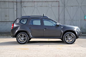 Hintergrundbilder Dacia Graue Seitlich 2013 Duster Black Edition