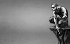 Image Man Warriors Painting Art Riddick film Movies