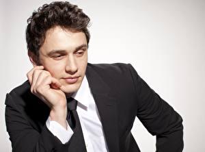 Bilder James Franco Mann Anzug Krawatte Gesicht Prominente