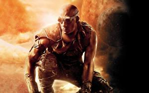 Wallpapers Vin Diesel Man Warriors Riddick film Glasses Celebrities