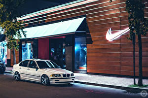 Picture BMW Brand White Street 323 E46 nike Cars