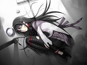 Bilder Brünette Anime Mädchens