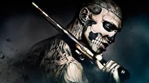 Picture Pistol Men 47 Ronin 2013 Tattoos Face Movies