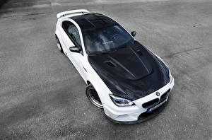 Pictures BMW Asphalt From above 2013 M6 F12  automobile