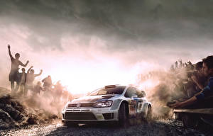 Hintergrundbilder Volkswagen Menschen Polo Autos Sport