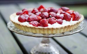 Hintergrundbilder Süßware Obstkuchen Erdbeeren Lebensmittel