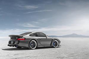 Fotos Porsche Himmel Grau Seitlich 991 996 SSR automobil