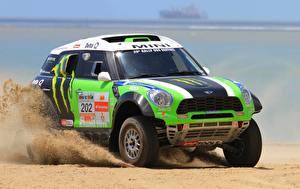 Hintergrundbilder Mini Sand Cooper Autos Sport