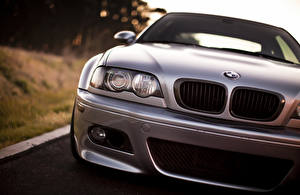 Picture BMW Silver color Front Headlights M3 auto