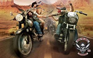 Bilder Ride to Hell: Retribution Mann Schlägerei Spiele Motorrad
