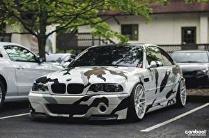 Bureaubladachtergronden BMW Vooraanzicht m3 Auto