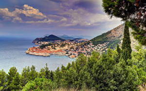 Photo Croatia Coast Dubrovnik HDR