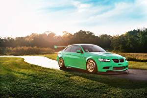 Picture BMW Green M3 Cars