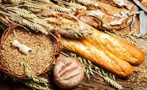 Bilder Backware Brot Weizen Ähre Getreide Lebensmittel