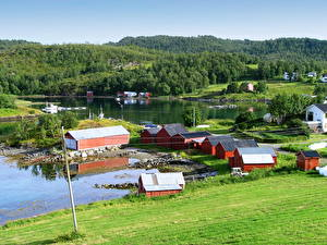 Images Norway Grass Harstad Cities