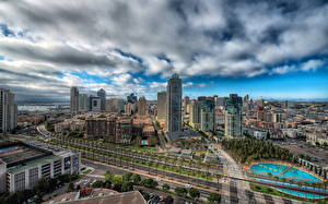 Bilder USA Haus Kalifornien San Diego HDR Städte