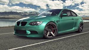 Picture BMW Green M3 E92 auto