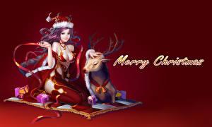 Wallpapers Christmas anime